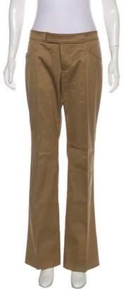 Gucci Mid-Rise Skinny Pants khaki Mid-Rise Skinny Pants