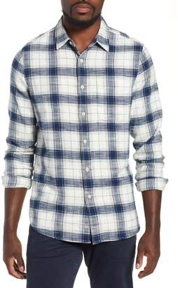 AG Jeans Colton Plaid Slim Fit Sport Shirt