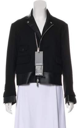 DSQUARED2 Notch-Lapel Zip-Up Jacket