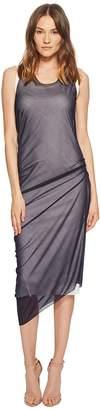 Sportmax Ode Sheer Overlay Sleeveless Dress Women's Dress