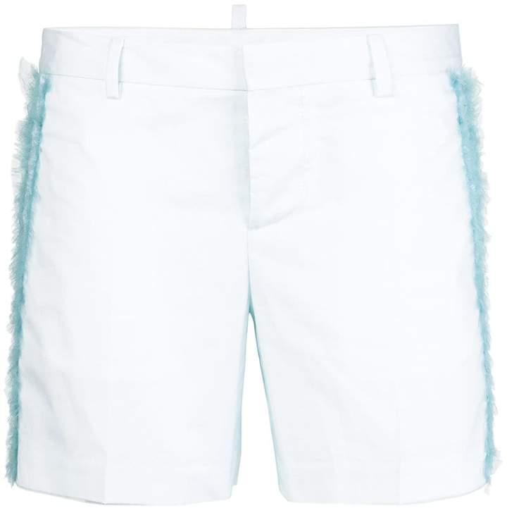 tinsel detail shorts
