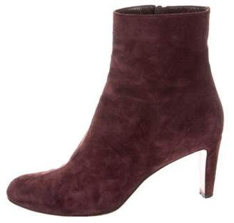Christian Louboutin Round-Toe Ankle Boots