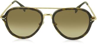 DROP CL 41374/S Acetate Aviator Unisex Sunglasses