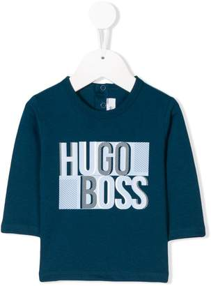 Boss Kids long sleeved T-shirt