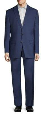 Lauren Ralph Lauren Slim-Fit Plaid Wool Suit