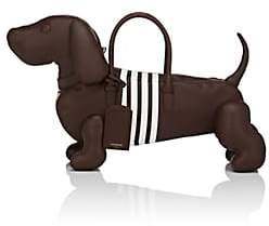 Thom Browne MEN'S HECTOR DOG BAG-BROWN