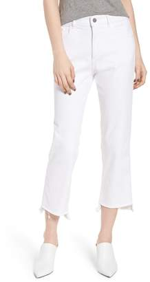 DL1961 Patti High Waist Crop Straight Leg Jeans