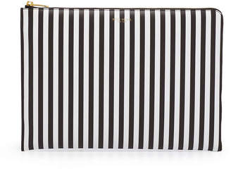 Henri Bendel Centennial Stripe Laptop Case