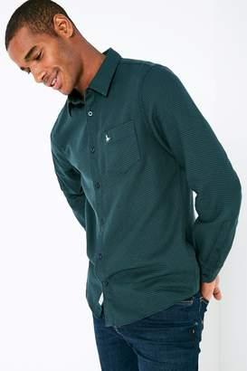 Jack Wills Salcombe Dogtooth Shirt