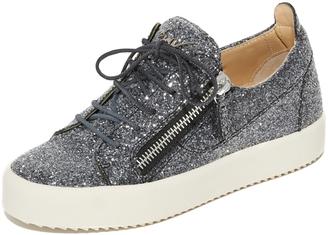 Giuseppe Zanotti Glitter Sneakers $675 thestylecure.com