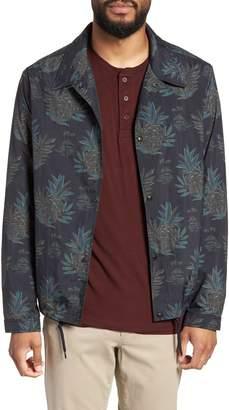 Vince Tropical Regular Fit Coach's Jacket