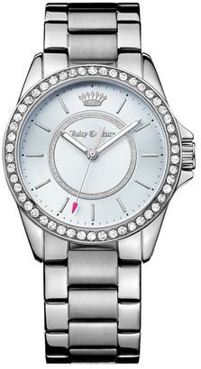 Juicy Couture Women's Laguna Crystal Bracelet Watch $225 thestylecure.com