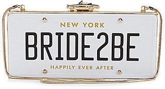 Kate Spade Wedding Belles Collection BRIDE2BE License Clutch