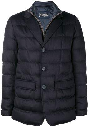 Herno double layer padded jacket