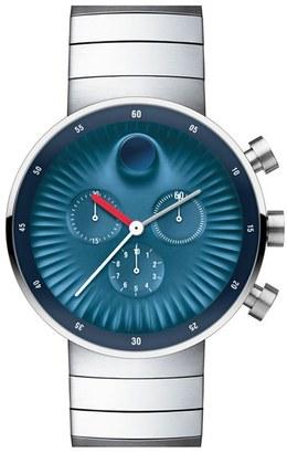 Movado 'Edge' Bracelet Watch, 42Mm $995 thestylecure.com