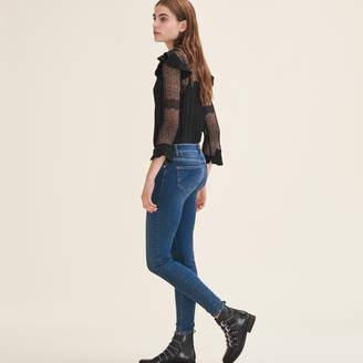 Maje Faded slim jeans