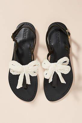Mystique Black + Pearl Sandals