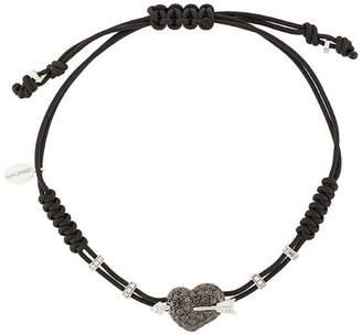Pippo Perez 18kt white gold and diamond Arrow Heart bracelet