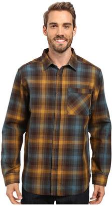 Mountain Hardwear Reversible Plaid Long Sleeve Shirt Men's Long Sleeve Button Up