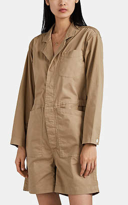 Alex Mill Women's Relaxed Cotton Romper - Beige, Tan