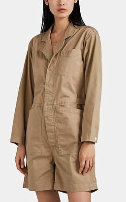 Alex Mill Women's Relaxed Cotton Romper - Beige, Tan