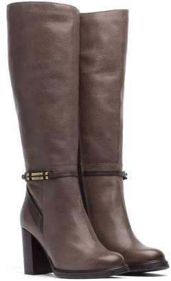 Tommy Hilfiger Buckle Knee High Boot