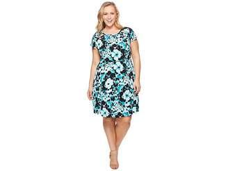 MICHAEL Michael Kors Size Springtime Floral Dress Women's Dress