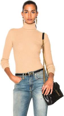 R 13 Rib Turtleneck Sweater