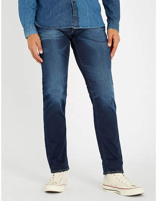 Replay Grover Hyperflex regular-fit straight jeans