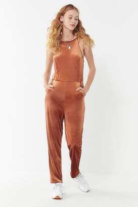 Urban Outfitters Naomi Velvet Jumpsuit