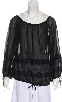 Chanel Sport Camellia Top w/ Tags