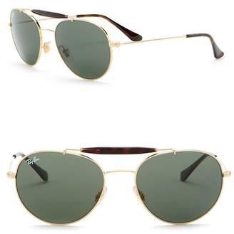 Ray-Ban Phantos 56mm Double Bridge Sunglasses