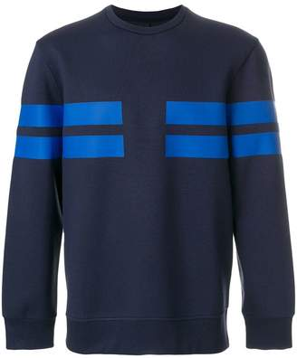 Neil Barrett striped sweatshirt