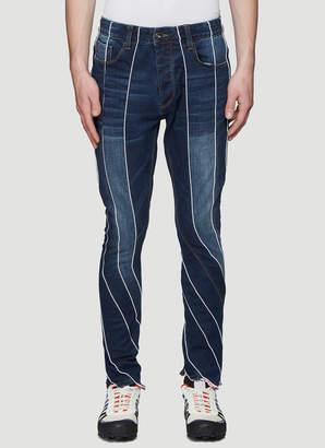 Ahluwalia Studio Reworked Denim Jeans in Blue