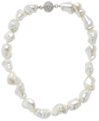 Kenneth Jay Lane Women's Cultured Mother-Of-Pearl Necklace