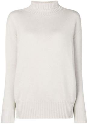 Max Mara 'S turtle-neck fitted sweater