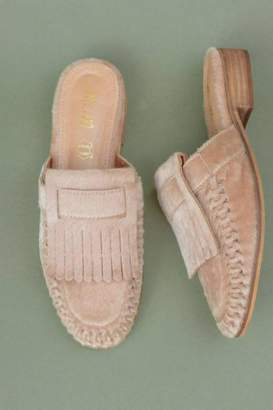 Miim French Loafer Mule