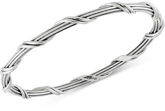 Peter Thomas Roth Overlap Bangle Bracelet in Sterling Silver
