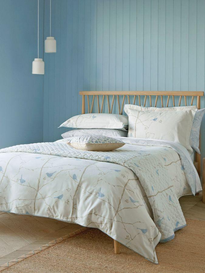 sanderson dawn chorus duvet cover home. Black Bedroom Furniture Sets. Home Design Ideas