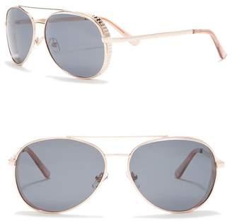 Joe's Jeans 54mm Aviator Sunglasses