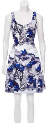 Prabal Gurung Printed Silk Dress w/ Tags