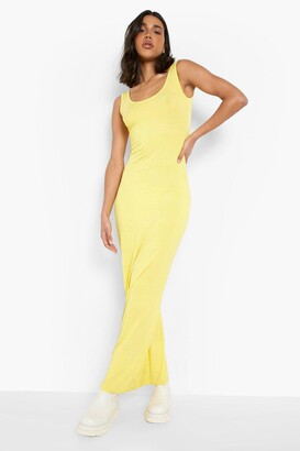 boohoo Sandy Scoop Neck Maxi Dress $20 thestylecure.com