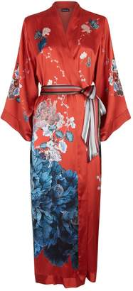 Meng Silk Peacock Robe