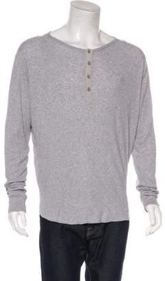 Vince Corduroy Henley Sweater