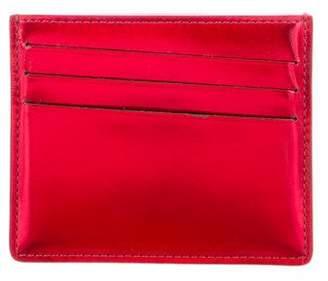 Maison Margiela Metallic Leather Card Case