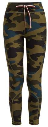 The Upside Army Camouflage Print Leggings - Womens - Camouflage