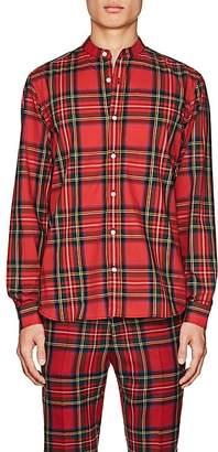 Burberry Men's Plaid Cotton Tunic