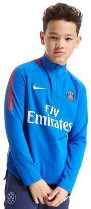 Nike Paris Saint Germain Squad Drill Top Junior