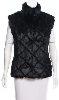 Glamour Puss Glamourpuss Rabbit Fur Vest w/ Tags