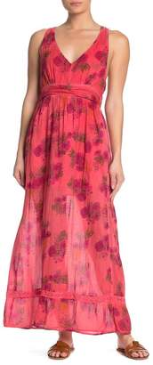 Raga Land of Lovers Floral Printed Maxi Dress
